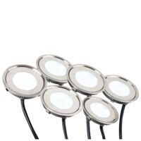 Набор KT-R-6x0.5W LED Day White 12V круг